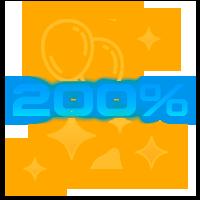 200% бонус на первый депозит орка 88